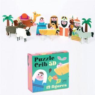 Crèche puzzle 3D Ingela Arrhenius - Omm Design