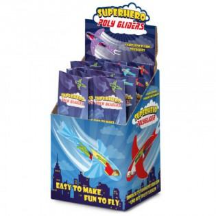 Planeur polystyrène super-héros