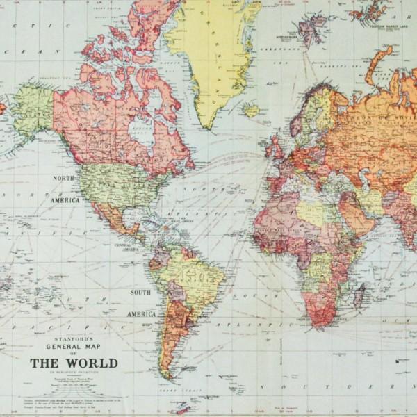 awesome poster de la carte du monde with maison du monde stickers. Black Bedroom Furniture Sets. Home Design Ideas