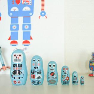 Mini Matryoshka Robots Ingela Arrhenius