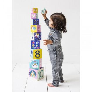 Cubes Animaux , alphabet, chiffres Helen Dardik