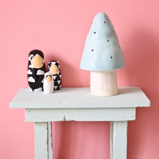 Petite Lampe Veilleuse champignon mint Egmont toys