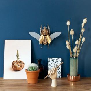 Kit de pliage papier Atlas beetle doré - Trophée assembli