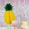 Ananas en papier à suspendre