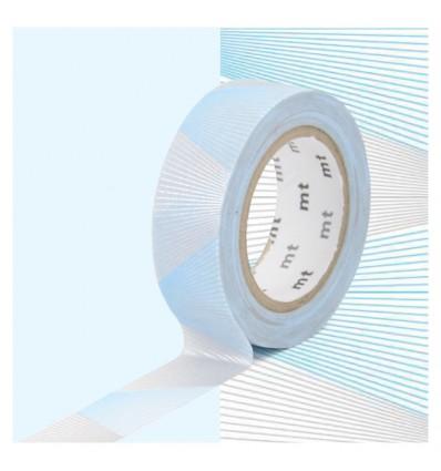 Masking tape zigzag rose/ jaune