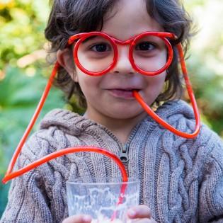 Pailles lunettes - REX