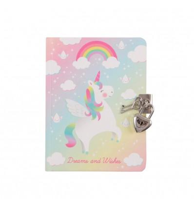 Carnet secret licorne - Sass & Belle