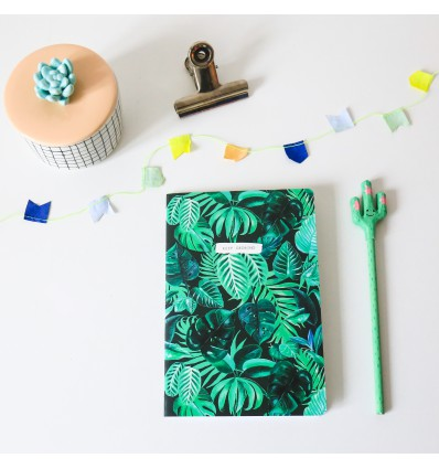 Cahier Feuilles tropicales - Sass & Belle