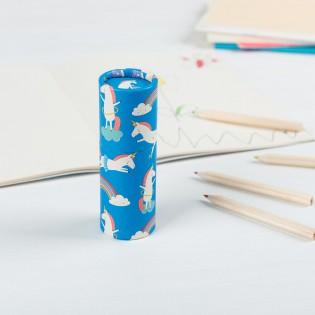 Boîte de 12 crayons de couleurs Licornes