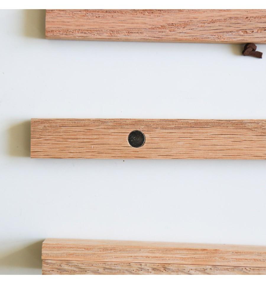 porte affiche bois
