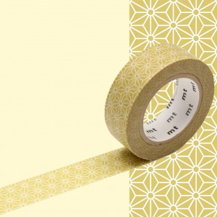 Masking tape asanoha karekusa olive