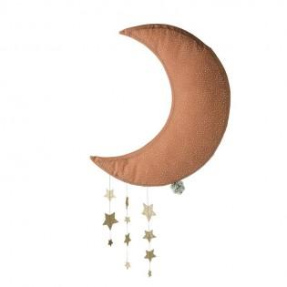 Lune rose & ses étoiles - Picca Loulou