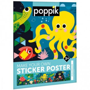 Aquarium / stickers poster - Poppik