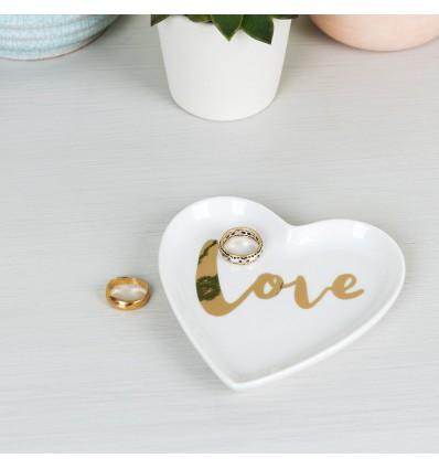 Coupelle à bijoux Coeur