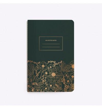 Carnet cousu Fine Fleur - Editions du Paon