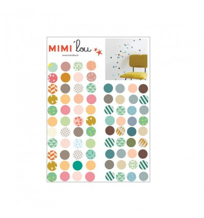 Stickers Just a touch Pois - Mimi lou