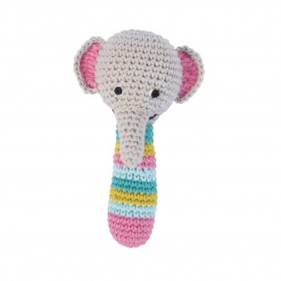 Hochet éléphant en crochet - Global Affairs