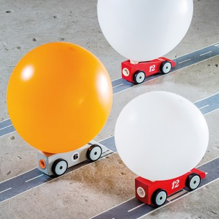 Voiture ballon Roadstar