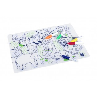 Set de table silicone Jungle - Super Petit