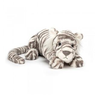 Peluche Sacha tigre blanc - Jellycat