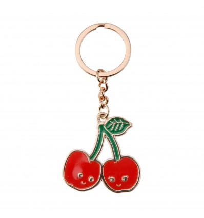Porte-clef cerise - Sass & Belle