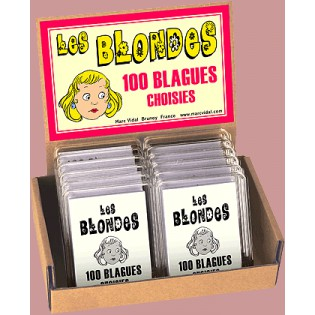 Les blondes 100 blagues - Marc Vidal