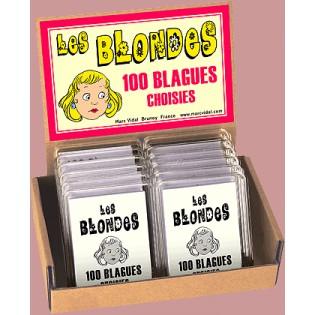 Les blondes 100 blagues - Marc Vidal