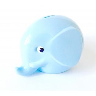 Tirelire rétro éléphant Bleu Clair - Norsu