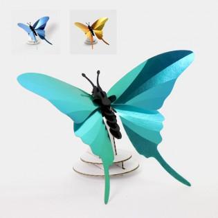 Papillon DIY Swordtail bleu - Assembli