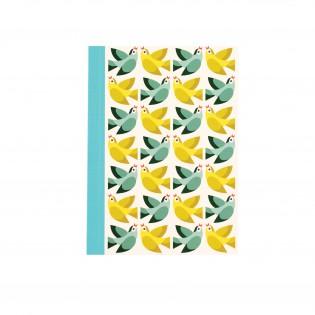 Carnet A6 Oiseaux