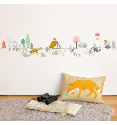 Stickers frise forêt - Mimi lou