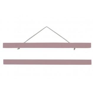 Porte-affiche bois rose 30 cm