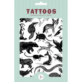 Tatouages Black Animals - Petit Monkey