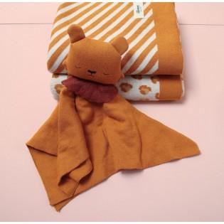 Doudou lion en coton bio - Eef Lillemor