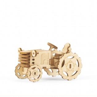 Puzzle 3D en bois Tracteur
