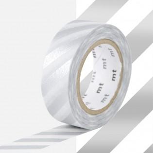 Masking Tape Rayures Argent