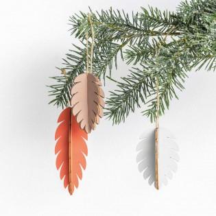 Décoration en bois Pommes de Pin - Rico Design