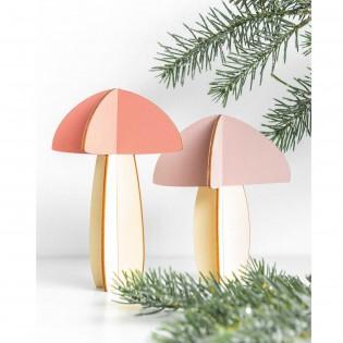 Décoration en bois Champignons - Rico Design