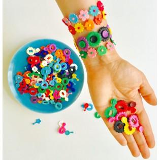 Mini fleurs plastiques - Breba