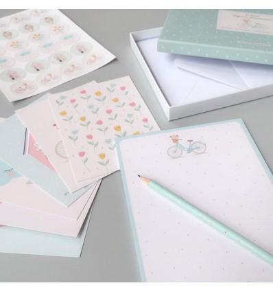 Coffret de correspondance Printemps - Zü
