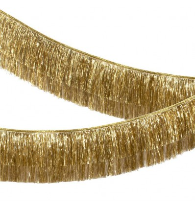 Guirlande franges dorées - Meri Meri
