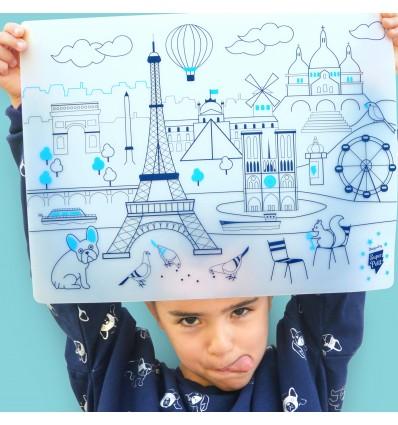 Set de table silicone Paris - Super Petit