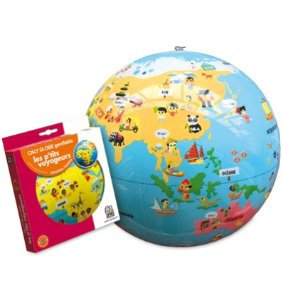Globe gonflable Petits Voyageurs Caly