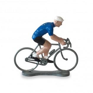 Figurine cycliste Champion d'Europe - Bernard & Eddy