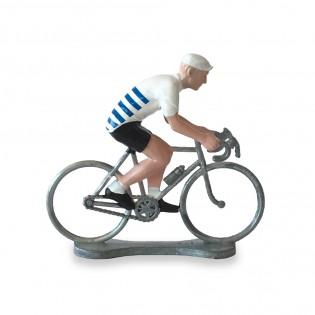 Figurine cycliste Bretagne - Bernard & Eddy
