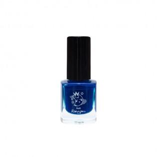 Vernis à ongles bleu Nuit enfant pelliculable - Rosajou