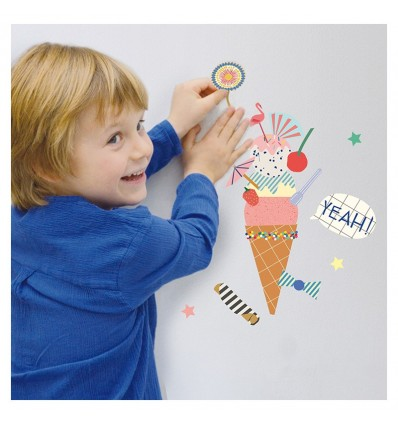 Stickers Just a touch Glace - Mimi lou