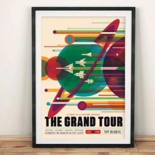 Affiche NASA - Le Grand Tour