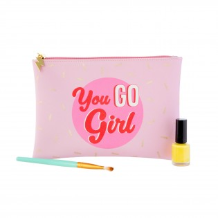 Pochette trousse Girl Power - Sass&Belle