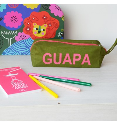 Trousse coton kaki Guapa - Kitsch Kitchen